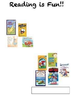 1st grade Summer Reading List 2013 | Scribd
