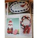 Christmas Bazaar Crochet Santa Doll Patterns +
