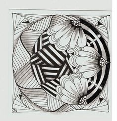 Like the style...site shows tiles by 9 year olds!! Wow! They have more patience than any 9 year old I know!