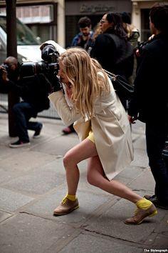 n-ulo:  Love it   カメラと服装のギャップww