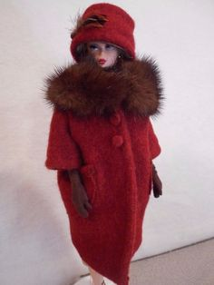 *Wool and Mink* Barbie Silkstone FR Repro Vintage Fashion Handmade OOAK Mary | Dolls & Bears, Dolls, Barbie Contemporary (1973-Now) | eBay!