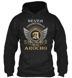 AROCHO - Never Underestimate #Arocho