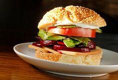 Roast Beet Sandwich.