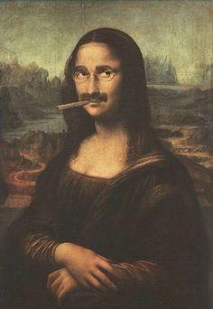 Mona lisa Groucho Marx