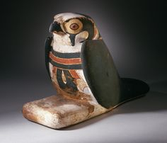 Mummiform Falcon with Inscribed Menat. Third Intermediate Period, 1070-712 B.C.