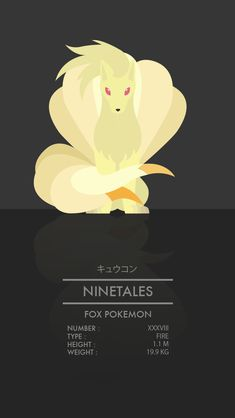 Pokemon Designs: #35 - 38-Created byThong Le Be sure to follow the artist onTumblr,Twitter, andFacebook. If you like this post, then check out hisprevious Pokemon designs here.