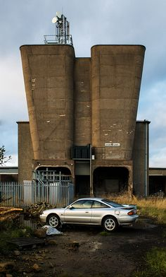 Ventilation Building, Rothes Colliery, Scotland