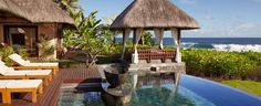 The Luxury Suite Villa at Shanti Maurice, ideal for honeymooners...