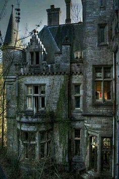 Abandoned castle in Ireland.