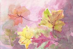 Herbst/ Autumn/ Otoño/ Automne/ 秋季 Painting, Watercolour, Watercolors, Painting Art, Paintings