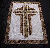 Image result for Log Cabin Cross Quilt Pattern Free