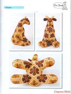 Игрушки на основе Африканский цветок. Подробное описание