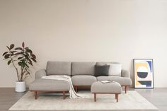 Henri Sectional Sofa, Light Brown, Right Facing Living Room Sectional, Home Living Room, Sectional Sofa, Free Fabric Swatches, Buy Sofa, Floor Decor, Scandinavian Home, Dining Furniture, Sofa Design