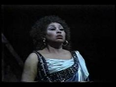 In honour of Leontyne Price's 85th birthday -- O Patria Mia. This is an unforgettable performance.