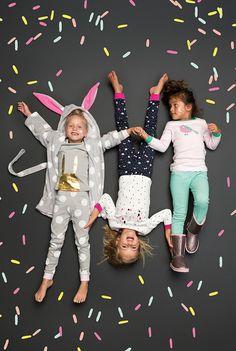 Sleeping in Sprinkles children's sleepwear | Little Gatherer