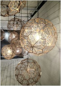 Etch Light Web from Tom Dixon. @A_Interiors