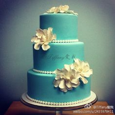 Tiffany Wedding Cake   # Pin++ for Pinterest #