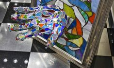 3D stained glass