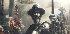 Fragmento de una ilustración de 'La sombra de Don Quijote'