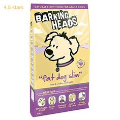 Barking Heads Dog Food Fat Dog Slim Adult Light-Rice & Chicken 12 kg