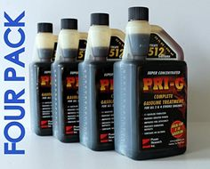 PRIG 4 PACK Each 32oz bottle treats 512 gallons of Gasoline FREE SHIP >>> To view further for this item, visit the image link.