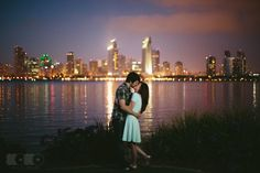 My silly, fun engagement shoot. © 2013 XOXO Wedding Studio, Wedding Photography & Videography from San Diego #SD #skyline #Coronado
