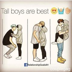 Tall boys are best