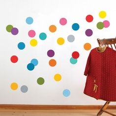 am i too grown up for confetti walls? from petit collage.