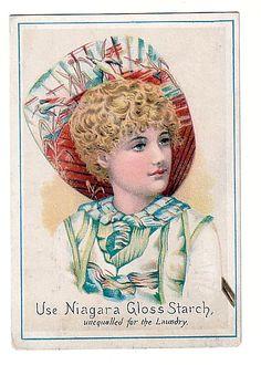 Victorian Trade Card Niagara Gloss Starch (Victorian Trade Cards)