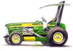 Chip Foose, but this Tractor Sketch is badass. Chip Foose, but this Tractor Sketch is badass. Chip Foose, Tractor Pulling, Bmw Series, New Trucks, Lifted Trucks, Car Drawings, Automotive Art, Ford Gt, Transportation Design