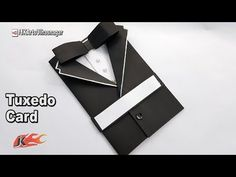 Father's Day Card Idea | How to make Suit Tuxedo Card | JK Arts 1234 - YouTube