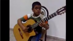 """Celine Dion's """"My Heart Will Go On"""" (the theme from the major blockbuster Titanic) has never sounded so good. Julio Silpitucla may be young, but he is one of the best guitar players we have ever come across!"""