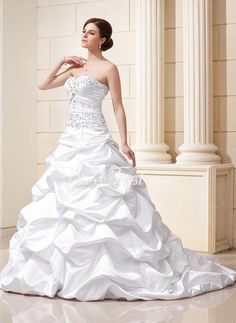 I wish I could have a fancy enough wedding to merit a dress like this