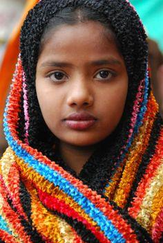 India - donna bocciolo - di danyprincipe74