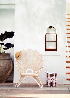 Palmyra Indoor/Outdoor Chair | Anthropologie Outdoor Living