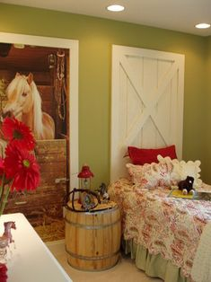 Kids Photos Horses Design Ideas, Pictures, Remodel, And Decor   Page 13
