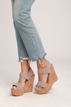 b763a1fb839d 17 Best taupe sandals outfit images
