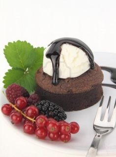 Chocolate Souffle Cake. That looks really good!