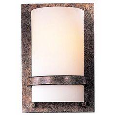 "Minka Lavery Contemporary Iron 10"" High Wall Sconce"