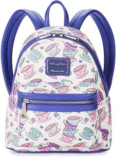 New Disney Parks Mad Tea Party Mini Backpack Loungefly online shopping - Chicideas Rucksack Bag, Backpack Purse, Jansport Backpack, Mini Backpack, Leather Backpack, Fashion Backpack, Disney Handbags, Disney Outfits, Disney Fashion