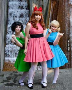 Powerpuff Girls cosplayers