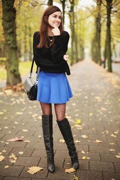 Adorable with polka dot leggings