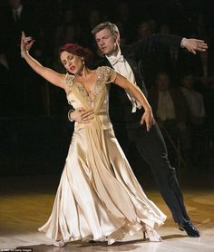 DWTS Nick and Sharna performed a beautiful dance as part of the finale ...