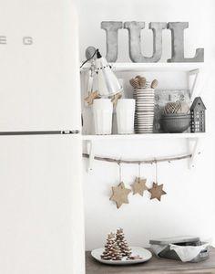 北欧キッチンクリスマス飾り