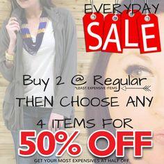 Park Lane Jewelry everyday sale!!