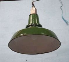 Robert Mills Architectural Antiques - 1 enamel lights