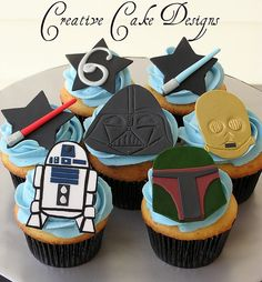 Star Wars Cupcakes by Creative Cake Designs (Christina), via Flickr