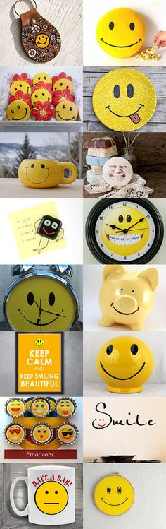 Smiley Face in home staging  for new house by Eli Rolandova on Etsy--Pinned with TreasuryPin.com #smileyface #smiley #homestaging