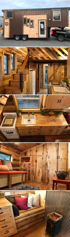 The Coyote Cabin from Incredible Tiny Homes