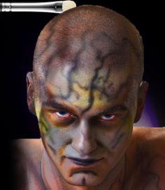 maquiagem circo de soleil - Pesquisa Google | The thousand and one ...